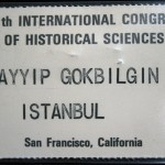 XIV. International Congressof Historical Sciences, San Francisco
