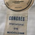 XVeme Congres Intern. de Sociologie, Istanbul