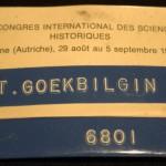 XII. Congres Internat. des Sciences Historiques, Vienne (Autriche)