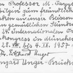 Prof.Eikhard UNGER 28.8-4.9.1957 Munih Orientalist Kongresi_0002