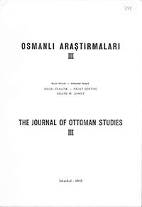 Osmanli Arastirmalari